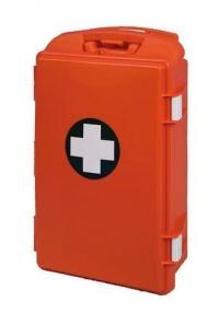 Nástěnná přenosná lékárnička plastová, červená