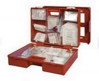 Plastový kufr první pomoci se stěnovým držákem SPECIAL EU