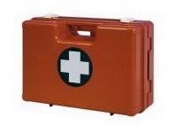 Plastový kufr první pomoci se stěnovým držákem